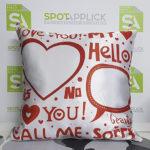 Cuscino cuore spotapplick prodotti