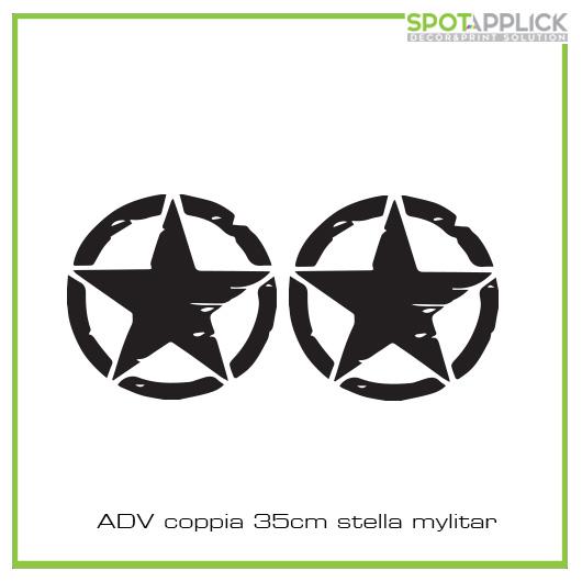 Stickers Stella Militare
