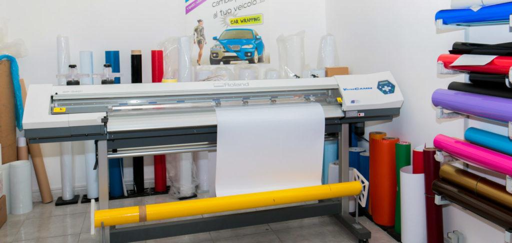Centro stampa digitale SpotApplick