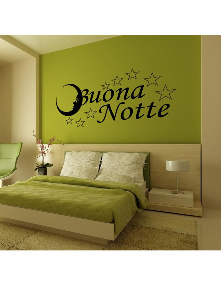 Sticker Adesivo Buona Notte 003