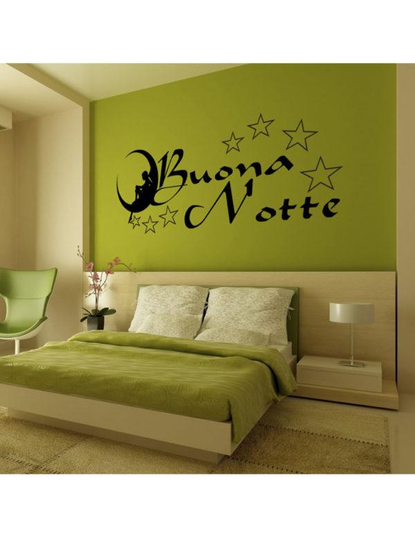 Sticker Adesivo Buona Notte 004
