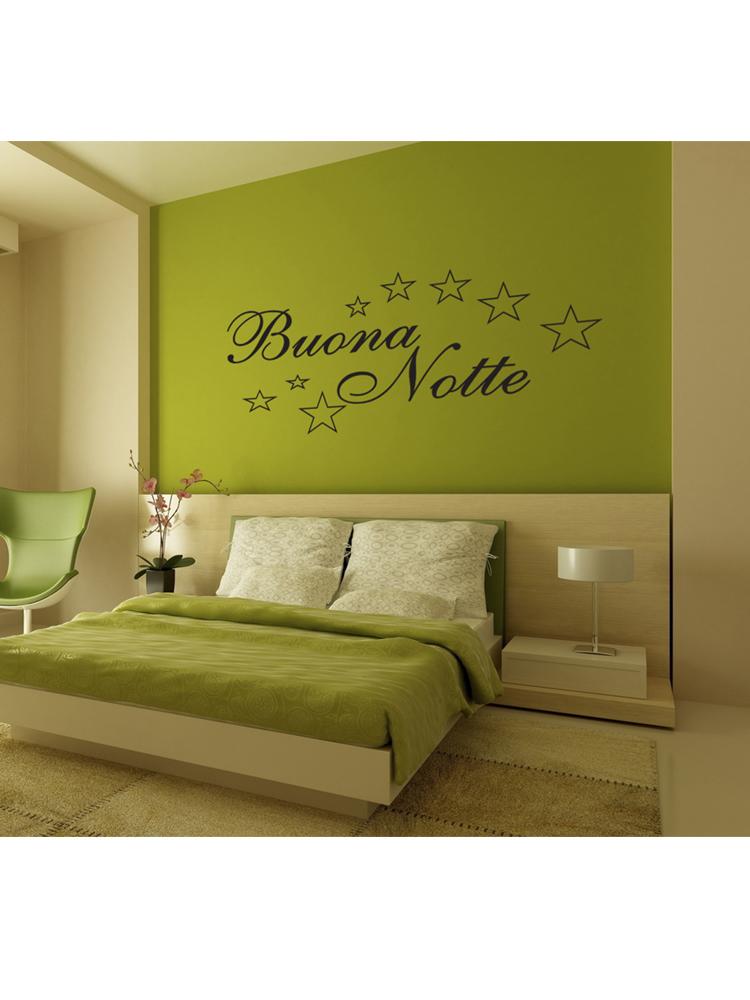 Sticker Adesivo Buona Notte 002