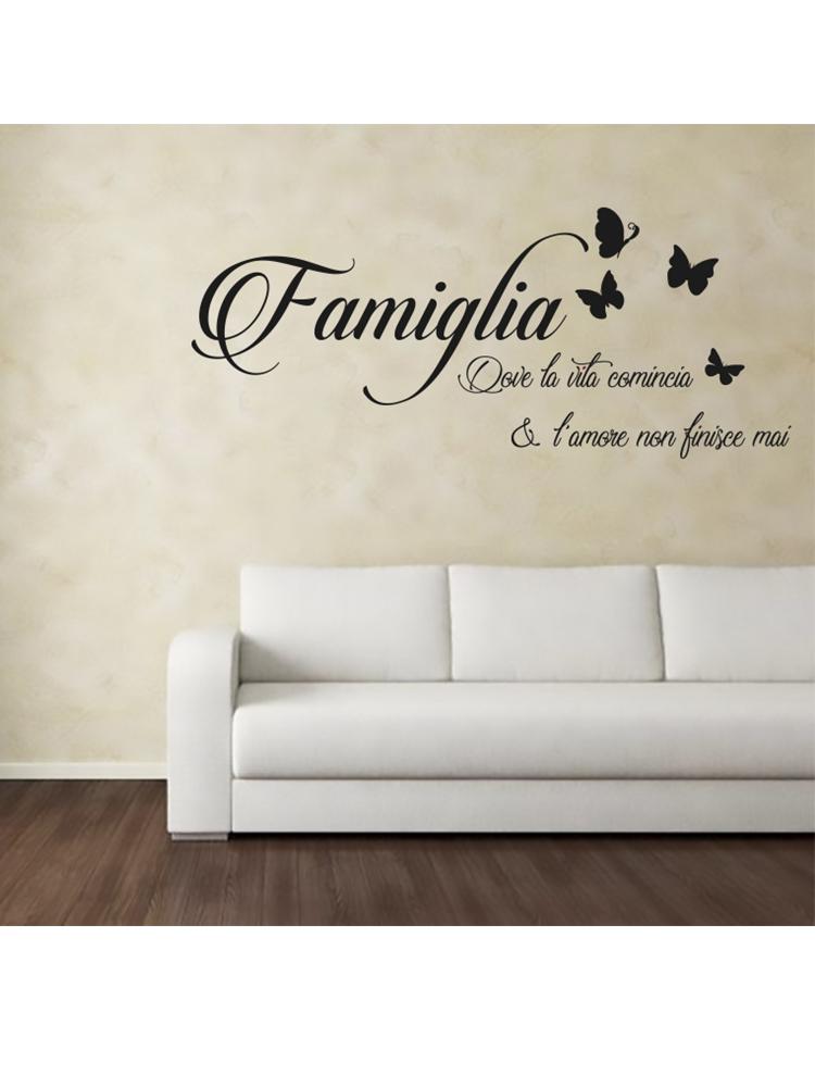 Sticker Adesivo Famiglia Amore