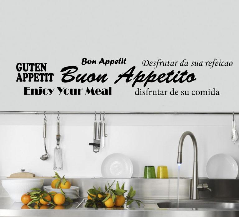 Sticker Adesivo Bon Appetit 004