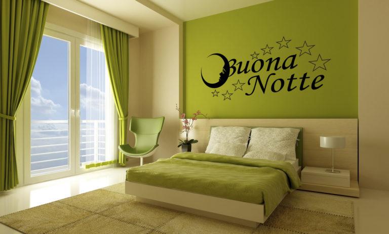 Sticker Adesivo Buona Notte 001