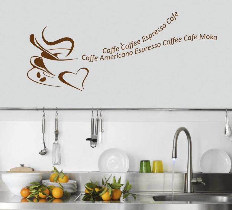 Sticker Adesivo Caffè