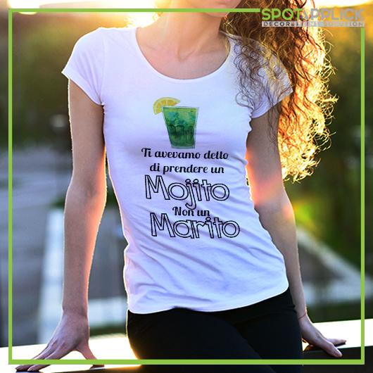 T Shirt Mojito Addio Al Nubilato