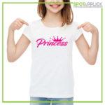 t shirt princess bambina napoli
