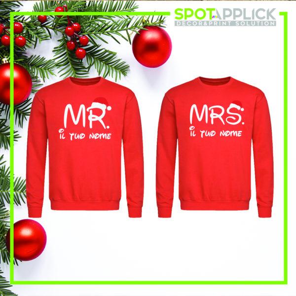 Felpa Mr. Mrs. Natale