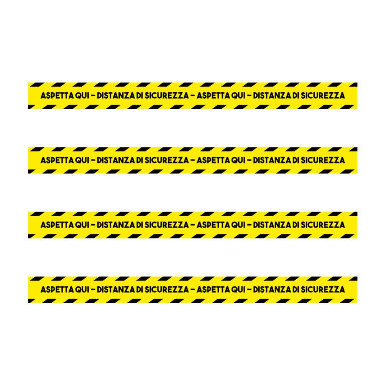 Adesivo Calpestabile 100×8 CM