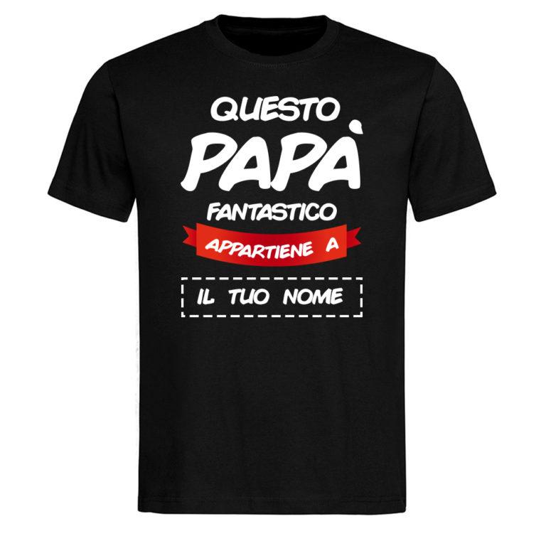 T shirt Festa del Papà Personalizzata