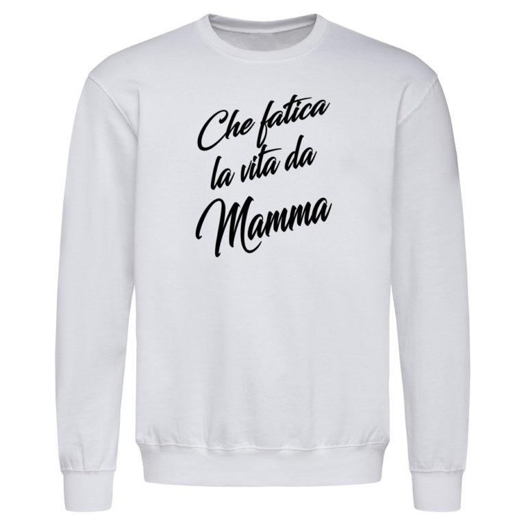 Felpa Girocollo Festa della Mamma