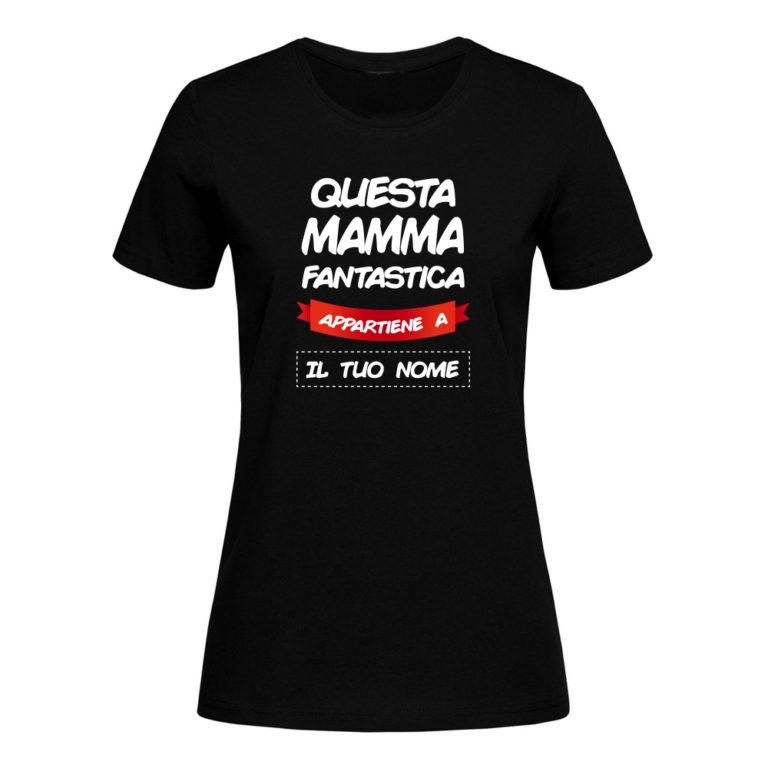 T Shirt Personalizzata Nera
