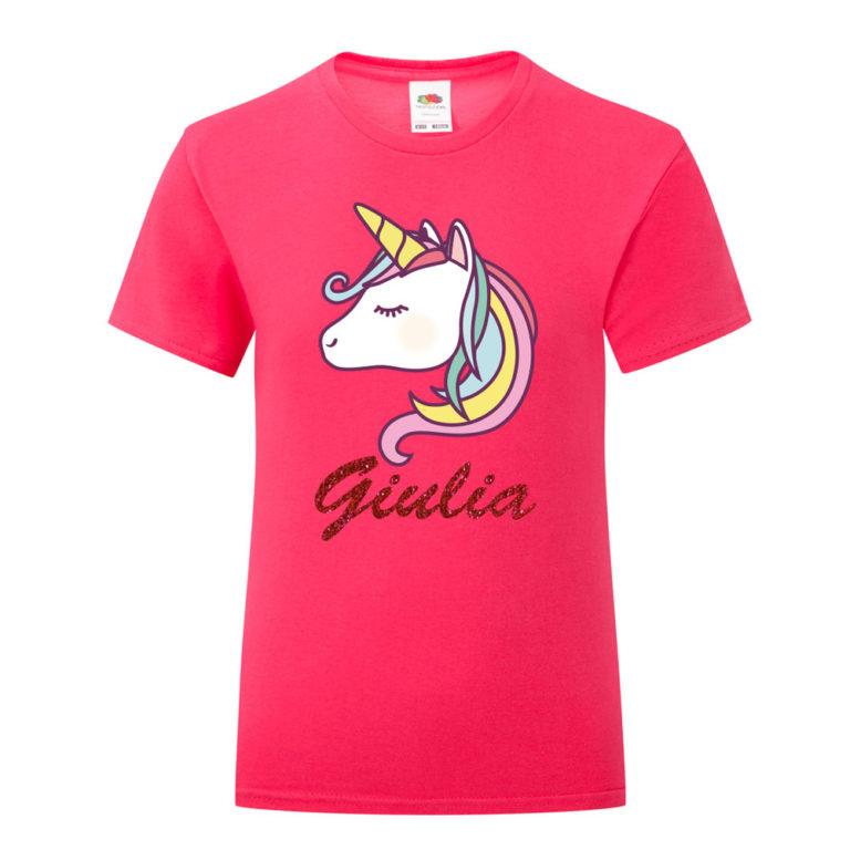 T-Shirt Unicorno Bambina